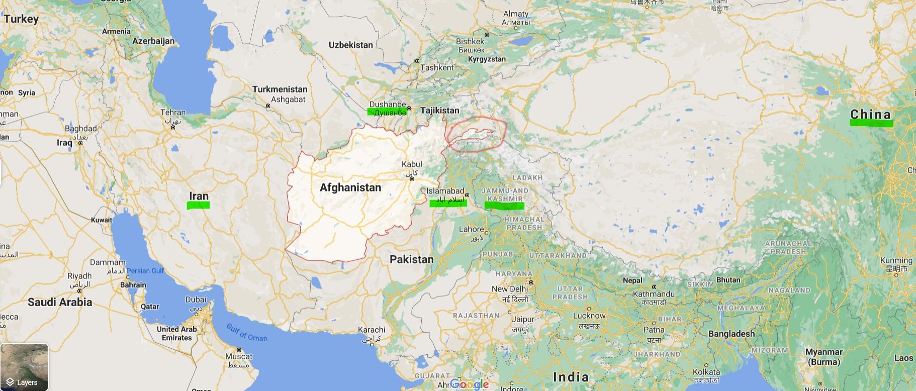 আফগানিস্তান — কী হচ্ছেটা কী <br />  নীলাঞ্জন হাজরা